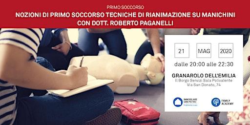 21/05/2020 NOZIONI DI PRIMO SOCCORSO: TECNICHE DI RIANIMAZIONE SU MANICHINI