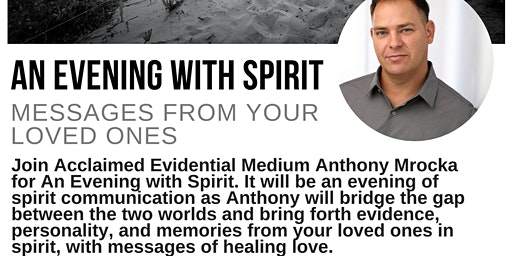 An Evening With Spirit: Messages From Your Loved Ones - Pleasantville, NY