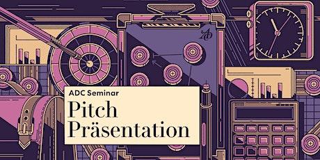 Pitch-Präsentation Tickets