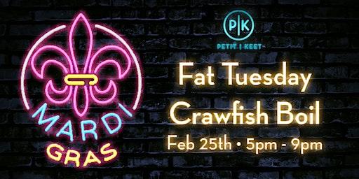 Fat Tuesday Crawfish Boil at Petit & Keet