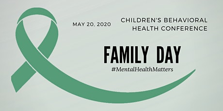 Children's Behavioral Health Conference Family Day tickets