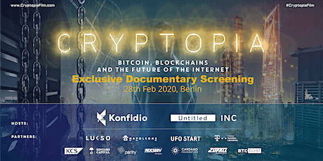 #CryptopiaFilm Premiere in Berlin / Blockchain Documentary tickets