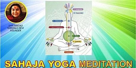 Sahaja Yoga Meditation - Free classes tickets