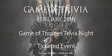Game of Trivia (Game of Thrones Trivia Night) tickets