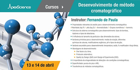 Desenvolvimento de método cromatográfico ingressos
