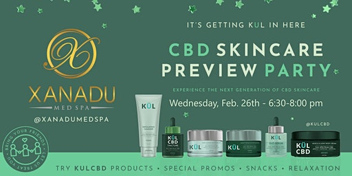 KUL CBD Skincare Launch Party