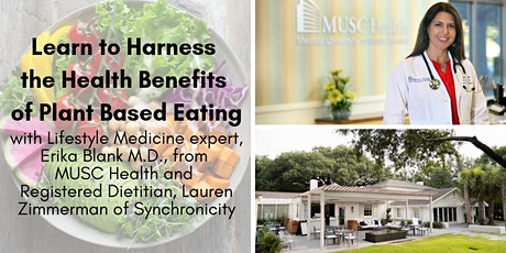 Harness The Health Benefits Of Plant Based Eating tickets