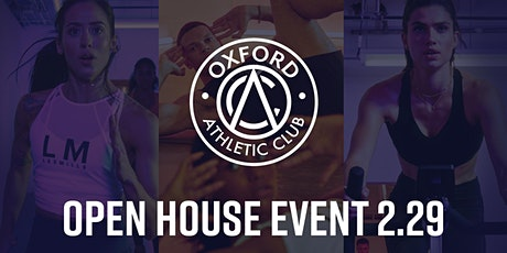 Oxford Athletic Club Open House Event tickets