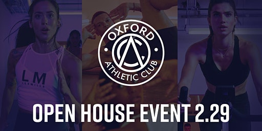 Oxford Athletic Club Open House Event