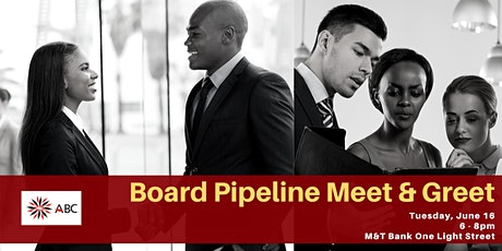 ABC's Board Pipeline Meet and Greet Spring 2020 tickets