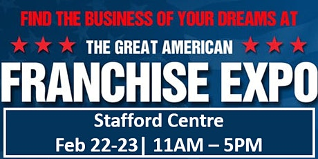 Franchise Expo - Find a Business That Will Help You Live Your Dream tickets