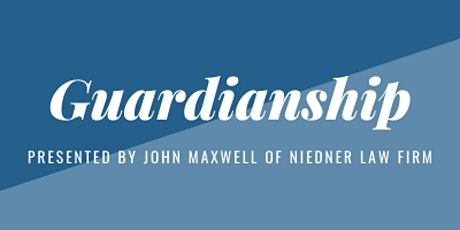 Guardianship Educational Session tickets