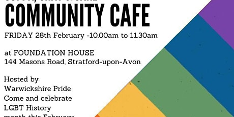 Warwickshire Pride hosts Community Café tickets