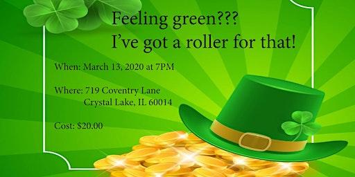 Feeling green???  I've got a roller for that!
