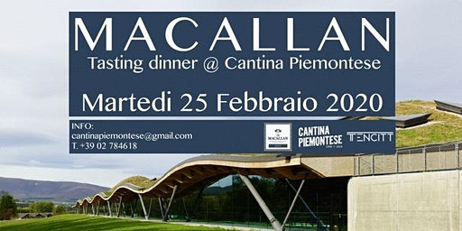 Serata degustazione Macallan @Cantina Piemontese