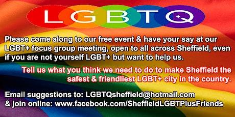 Sheffield LGBT+ Focus Group Meeting tickets