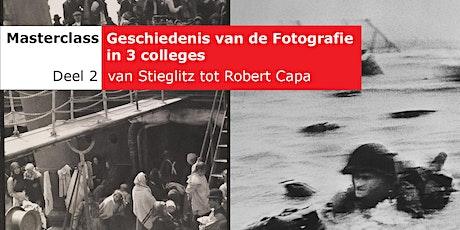 Masterclass - Geschiedenis van de fotografie (deel 2 van 3) tickets