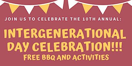 Intergenerational Day Celebration!!! tickets