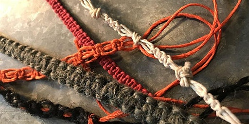 Macrame Bracelets - Free Drop In and Create