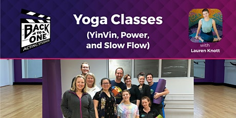 Yoga (YinVin, Power, and Slow Flow Classes) tickets