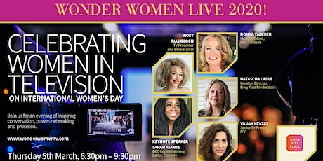 WONDER WOMEN LIVE 2020! tickets