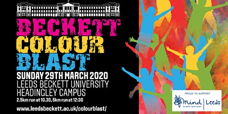 Beckett Colour Blast 2020 tickets