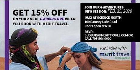 Merit Travel presents G Adventures tickets
