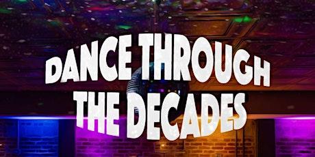 Dance Through the Decades 2020 tickets