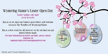 Wymering Manor Easter Open Day tickets