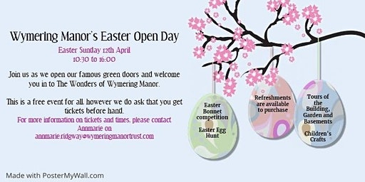 Wymering Manor Easter Open Day