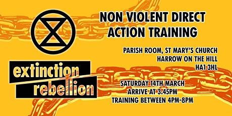 XR Harrow - Non Violent Direct Action Training tickets