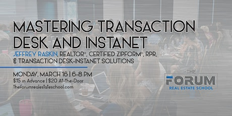 Mastering Transaction Desk and Instanet tickets