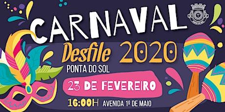 Carnaval da Ponta do Sol bilhetes