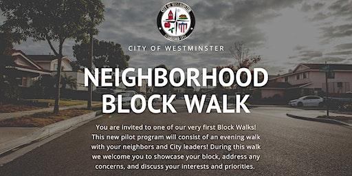 Neighborhood Block Walk #2