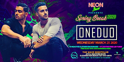 ONE DUO at The Wave Nightclub Spring Break 2020