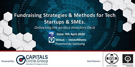 Workshop on Fundraising Strategies & Methods for Tech Startups & SMEs tickets