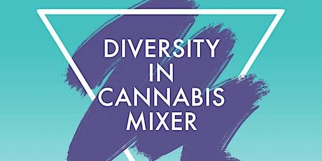 Diversity in Cannabis Mixer tickets