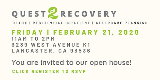 Quest 2 Recovery | Open House