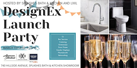 2020 DesignEx Launch Party sponsored by Splashes Bath & Kitchen and Lixil tickets