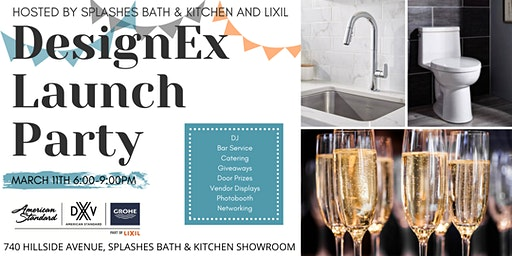 2020 DesignEx Launch Party sponsored by Splashes Bath & Kitchen and Lixil