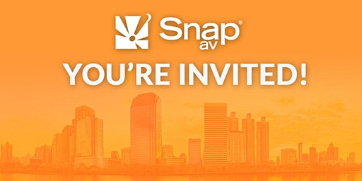 Exclusive invite: An evening with SnapAV