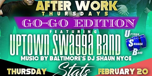 STATS Afterwork Thursday  UPTOWN SWAGGA   WING & DRINK SPECIALS