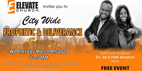 Prophetic and Deliverance Service tickets