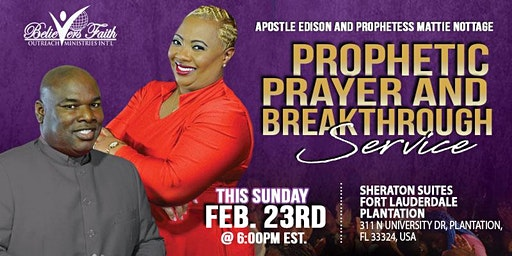 Prophetic Prayer and Breakthrough Service