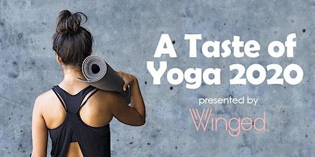 A Taste of Yoga 2020: Restorative Yoga tickets