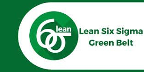 Lean Six Sigma Green Belt 3 Days Virtual Live Training in Utrecht tickets