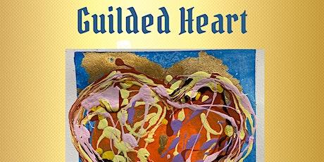Guilded Heart Gold Leaf Art Workshop! tickets