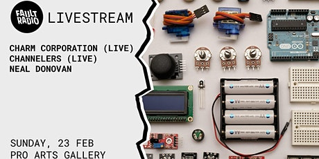 Fault Radio's Livetronica - Sunday session at Pro Arts Gallery tickets