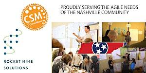 Live Online from Nashville Certified Scrum Master...