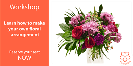 Make a professional looking arrangement with grocery store flowers tickets